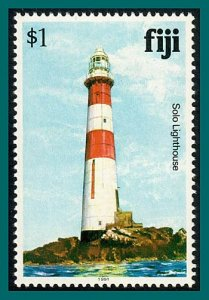 Fiji 1991 Solo Rock Lighthouse, $1 wmk 16, MNH  #423a,SG735