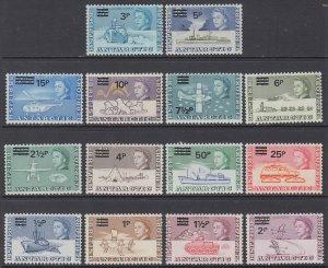 British Antarctic Territory 25-38 MNH VF