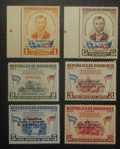 Honduras C325-30. 1964 JFK Memorial Issue, NH