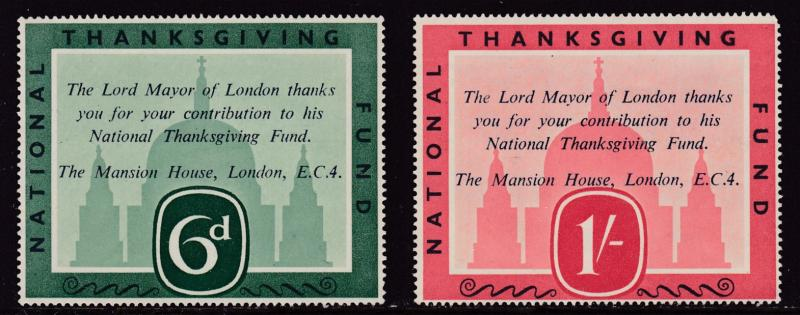 LORD MAYOR OF LONDON - NATIONAL THANKSGIVING FUND - COMPLETE (4)