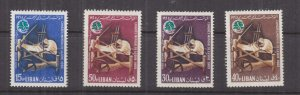 LEBANON, 1965 World Silk Congress set of 7, mnh.