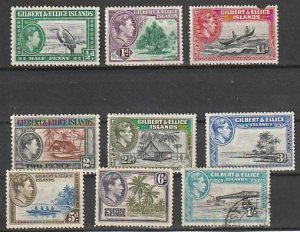 #40-47 Gilbert & Ellice Island Mint OGH,NG & Used #190819-1