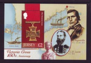 Jersey Sc 1202 2006 Victoria Cross stamp sheet  NH