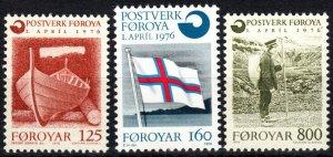 Faroe Islands #21-3 MNH CV $3.80  (P636)