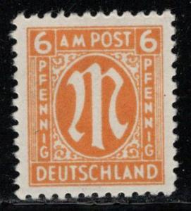 Germany AM Post Scott # 3N5, mint nh