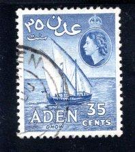 Aden #52a, used, CV $5.00  .....   0020054