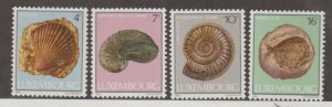 Luxembourg Scott #714-717 Stamps - Mint NH Set