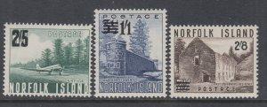 Norfolk Island 26-28 MNH VF