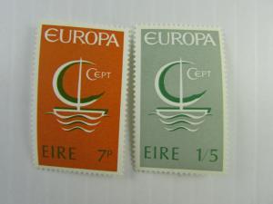 1966 Ireland  SC #216-17 Europa MNH stamp set