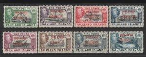 FALKLAND DEPENDENCIES South Georgia 1944 KGVI Pictorial set SPECIMEN MNH ** Rare