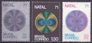 Brazil. 1971. 1301-3. Christmas and New Year. MNH.