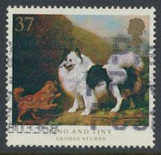 Great Britain SG 1535  Used  - Dogs George Stubbs Painting