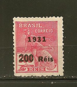 Brazil 356 Surcharge 1931 Mint Hinged