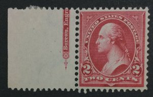 MOMEN: US #267 MINT OG **NH** POST OFFICE FRESH #31132
