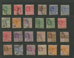 STAMP STATION PERTH Guiana Selection of 24 Stamps Unchecked Mint/Used -Lot 25
