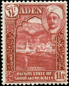 Aden-Quaiti Scott #4 Mint