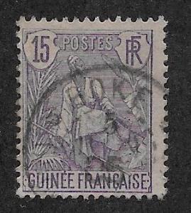 FRENCH GUINEA SC# 23  FVF/U    1904