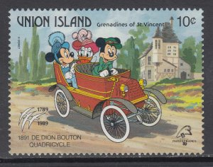 St Vincent Grenadines Union Island 246 Disney's MNH VF
