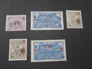 French Guiana 1924 Sc 100-3,106 MH