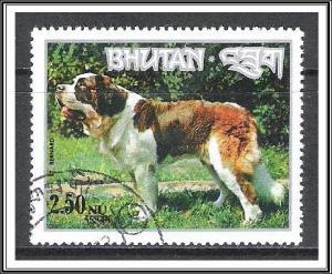 Bhutan #149K Dogs St Bernard CTO NH
