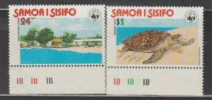 Samoa  SC  470-1  Mint Never Hinged