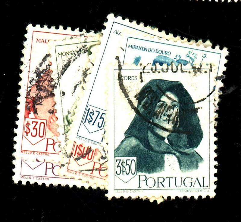 Portugal #675-82 Used VF Cat$17.50