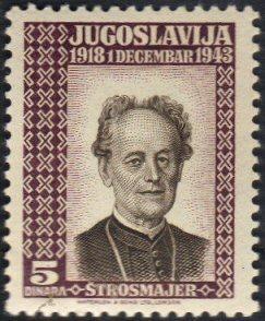 Yugoslavia #1K9 MLH cpl famous men