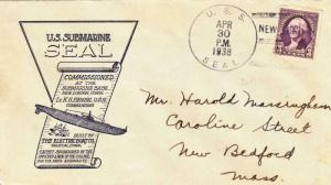 1938, USS Seal, SS-183, Commissioning (N6316)