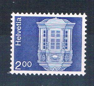 Switzerland 576 MNH Bay window 1973 (S1093)+