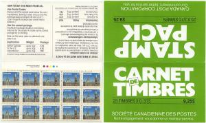 Canada - 1988 37c Stamp Pack Booklet Complete #BK98c