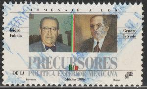 MEXICO 2017, Mexican Diplomats. USED. F-VF. (1392)