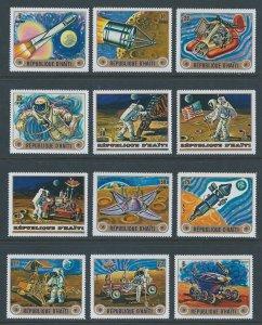 Haiti #Minkus1309-20 NH 1973 U.S. & Russian Space Achievements