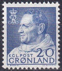 Greenland #53  MNH CV $4.25  (Z7395)