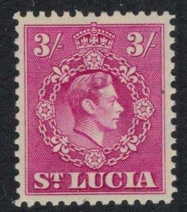 St. Lucia #123*  CV $6.75