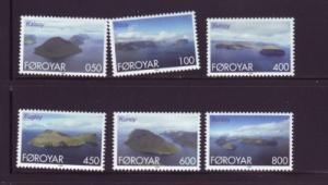 Faroe Islands Sc 356-61 1999 Islands stamp set mint NH