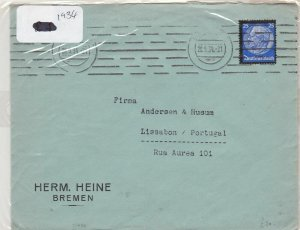 German Postal History Stamps Cover 1934 Ref 8740