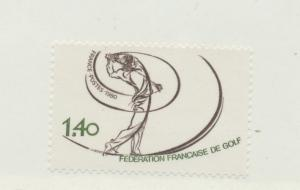 France Scott #1714, French Golf Federation Issue From 1980, Collectible Posta...
