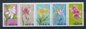 [56578] Palau 1990 Flora Flowers Orchids MNH