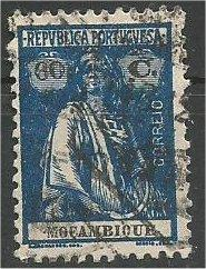 ANGOLA, 1922, used 60c Ceres Scott 149