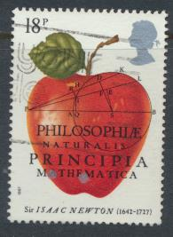 Great Britain SG 1351 -  Used - Isaac Newton