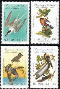 Barbuda 701-04 - Mint-NH - Audubon Birds (Cpl) (1985) (cv $6.10)