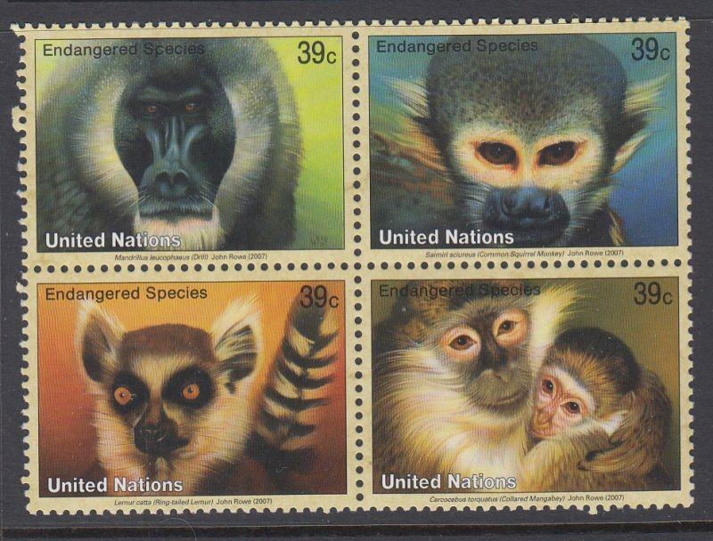 UN New York 928a Animals MNH VF