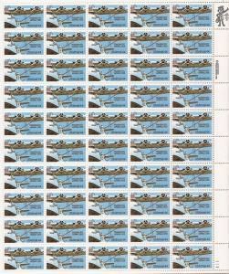 US Stamp - 1985 Transpacific Mail - 50 Stamp Sheet - Scott #C115