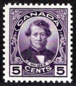 Scott 146, Canada, 5c,MNHOG, Thomas D'Arcy McGee, Postage Stamp