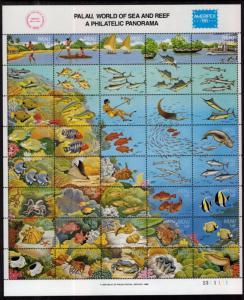 Palau 103 Marine Life MNH VF