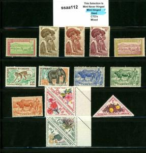 PKStamps - ssaa112 - Cameroun - Mini Lot - Check Out Image