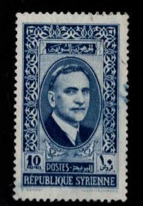 Syria Scott 268A Used blue cancel on 1942 stamp
