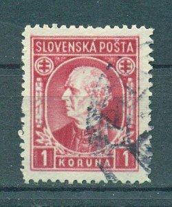 Slovakia sc# 31 (2) used cat value $.80