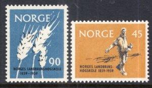 Norway 378-379 MNH VF