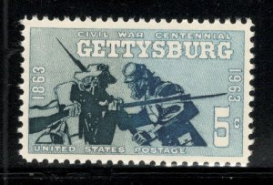 1180 Gettysburg Single Mint/nh FREE SHIPPING